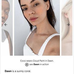 Glossier Makeup - Glossier Cloud Paint - Dawn